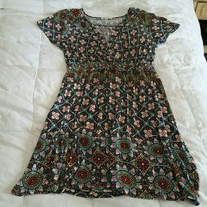 Spense Woman's Summer V Neck Dress XL